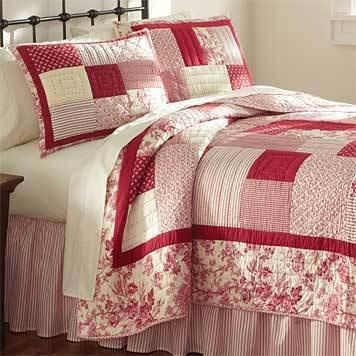 Another red quilt ... love it!!!