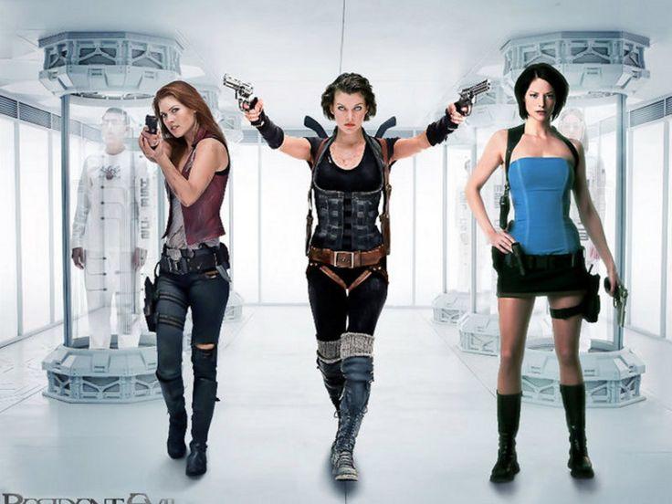 Ladies of Resident Evil