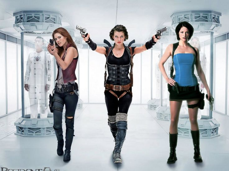 Resident Evil Movie Wallpaper