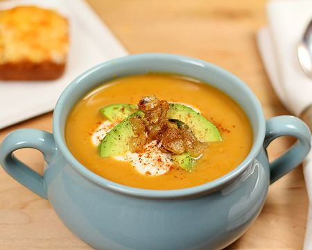 butternut squash potato and roasted pepper soup roasted pepper soup ...