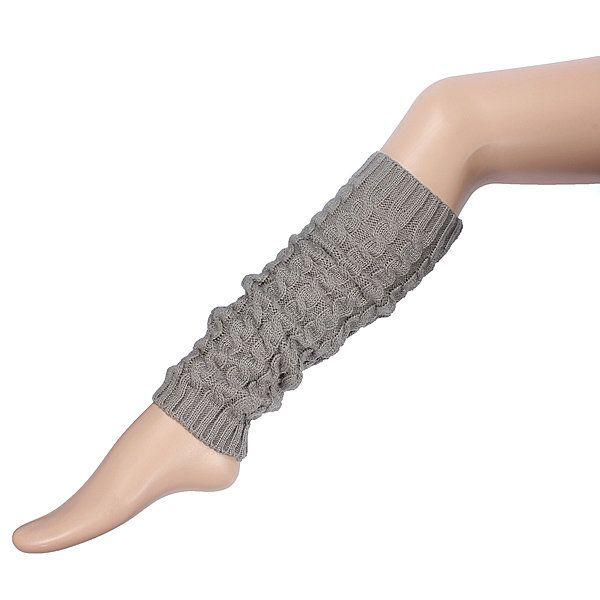 Women Knee High Leg Socks Winter Knit Crochet Warmers Legging - US$4.98 sold out