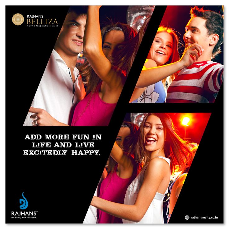 Add more fun in life and live excitedly happy.  #Discotheque #RajhansBelliza