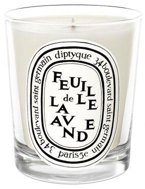 diptyque Standard Candle Feuille de Lavande Candle