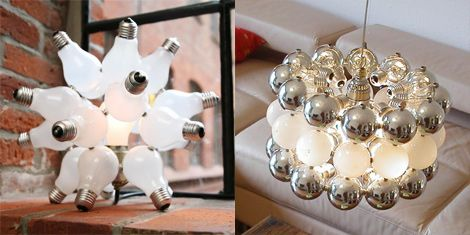 Recycled light balls!