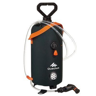 Accessoires randonnée douche portable avec eau sous pression. QUECHUA