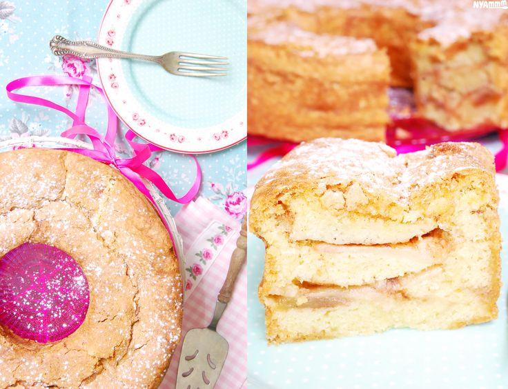 Rustic apple-cinnamon cake