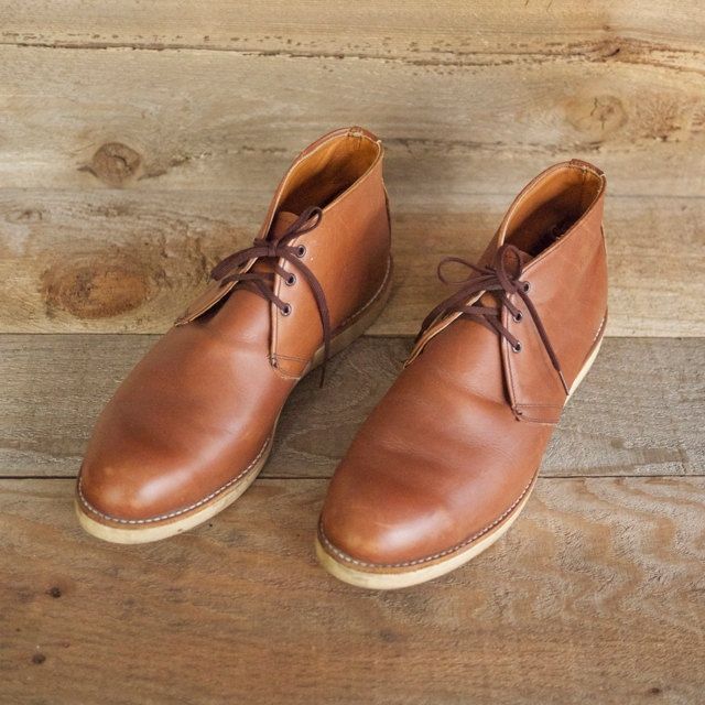 The Best Men's Shoes And Footwear :   Red Wing chukka boot 595.    - #Men'sshoes