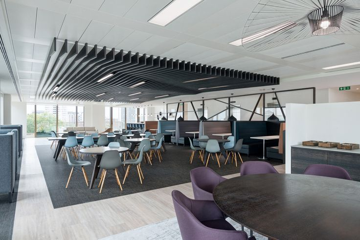 Hedge Fund Offices - London. Breakout. Collaboration space.