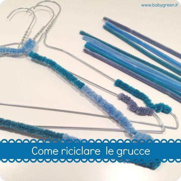 riciclare grucce #recycle #riciclo