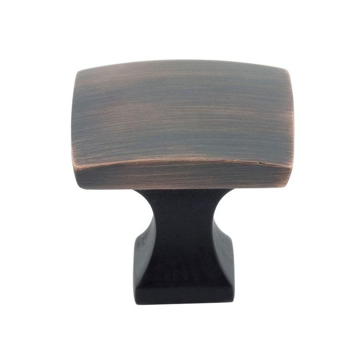 Richelieu Hardware 1-19/64 in. Oil-Rubbed Bronze Collection 7 Knob-BP76533BORB - The Home Depot