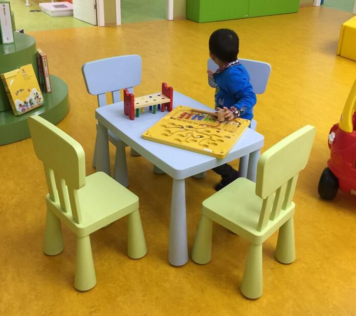 Decorative Children's Play Table And Chair Set