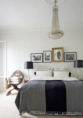 Charlotte Minty Interior Design: Danish Interiors by Malene Birger: Blanket, Decor Ideas, Lamps Shades, White Grey Bedrooms, Interiors Design, Black White, Malena Will Someday, Bedrooms Ideas, Art Wall
