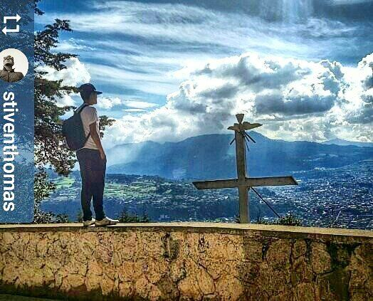 http://OkXela.com #Follow @stiventhomas: View of #Xela #Quetzaltenango #Guatemala from Cerro El Baúl - #ILoveXela #AmoXela #CentralAmerica #Travel #Xelaju