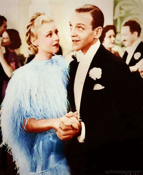Ginger Rogers and Fred Astaire // Top Hat (1935)                                                                                                                                                      More