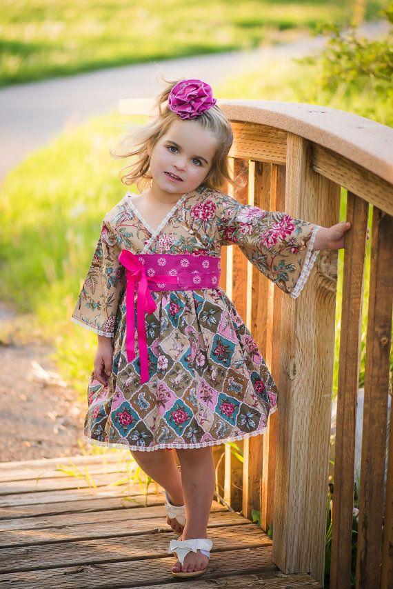 Garden Party Dress  #flowergirldress #toddlerdress #girlsbirthday