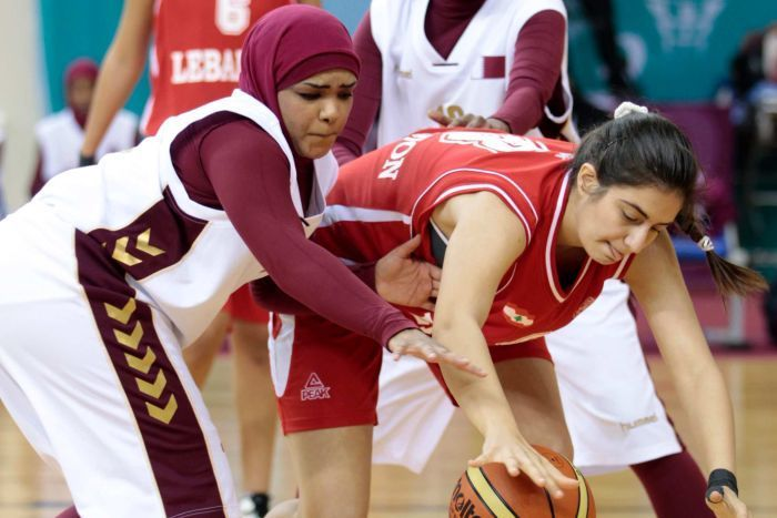 The Qatar women's basketball team has withdrawn from the Asian Games in South Korea after being denied permission to wear thehijabduring games. (I guess South Korea doesn't give a hoot about what...