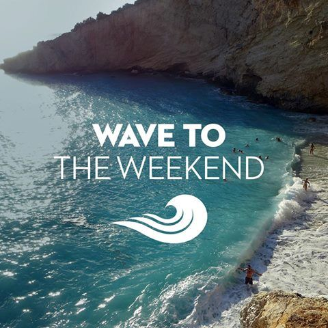 Wave to the WEEKEND!    #wecreateharmony #weekend #bringiton