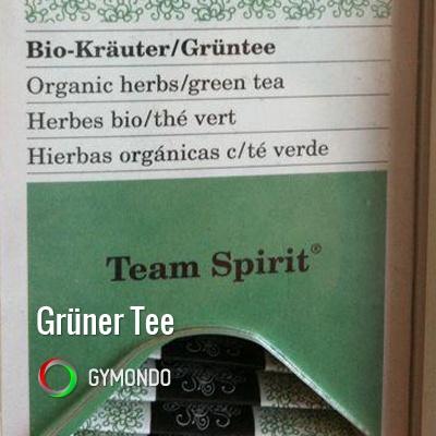Grüner Tee hat viele gesunde Eigenschaften. Eine Tasse am Tag und Ihr bringt Eure Fettverbrennung in Gang!
