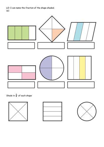 ks1 bundle year 1 2 fraction of shape shape hunt worksheets differentiated primary. Black Bedroom Furniture Sets. Home Design Ideas