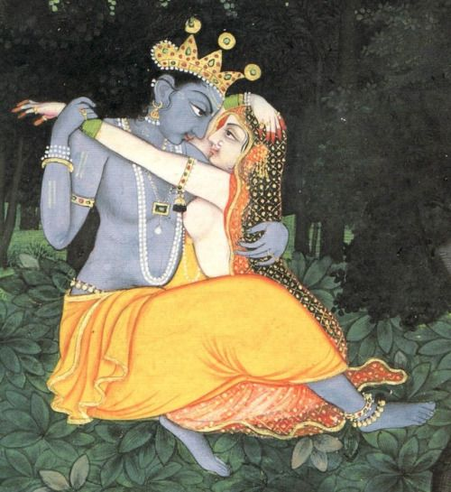 Radha and Krishna, the Supreme Lovers