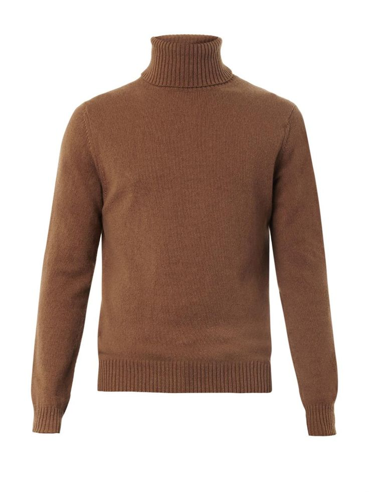 Ami Roll-neck wool sweater
