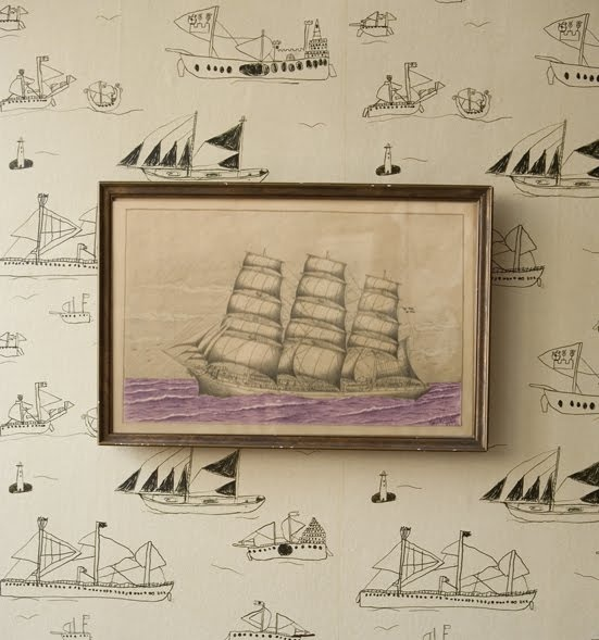 : Ohoy Wallpapers, Sailboats, 8 Years Old, Interiors, Boys Rooms, House, Ships Wallpapers, Nautical, Kids Rooms