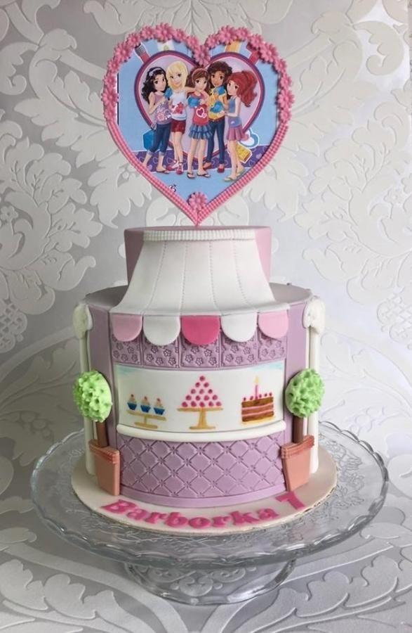 Lego friends sweet shop - Cake by Frufi