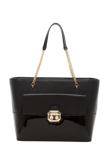 95918a9778d972 Image of Ted Baker London Seane Crystal   Imitation Pearl Leather Shopper