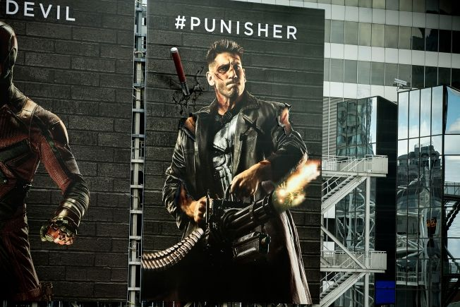 Netflix's Daredevil Characters Physically Damage Each Other's Billboards in Hashtag Fight