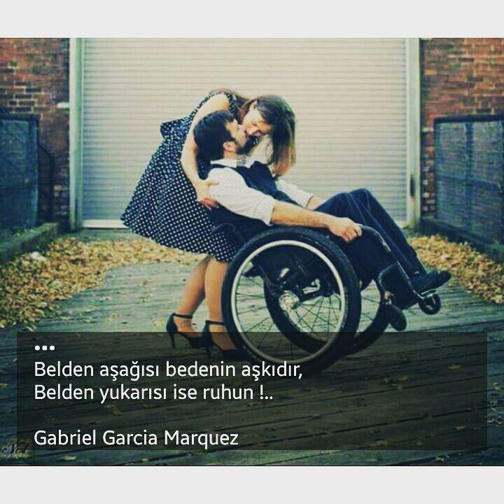 Belden aşağısı bedenin aşkıdır, Belden yukarısı ise ruhun!.. - Gabriel Garcia Marquez (Kaynak: Instagram - heves_acik) #sözler #anlamlısözler #güzelsözler #manalısözler #özlüsözler #alıntı #alıntılar #alıntıdır #alıntısözler #şiir #edebiyat