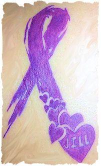 Alzheimer's Ribbon Tat