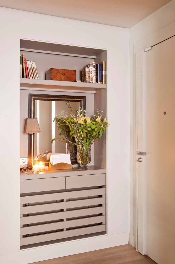 Las 25 mejores ideas sobre interior armario empotrado en - Muebles recibidores pequenos ...