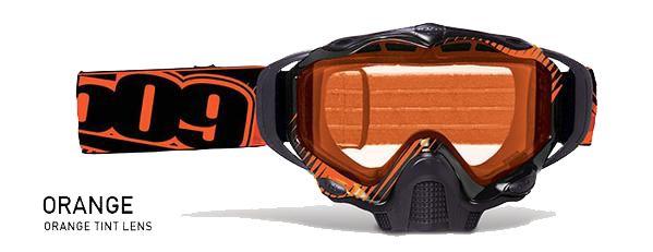 796da4e19dad 509 Sinister X5 Snow Goggle Orange with Orange Tint Lens
