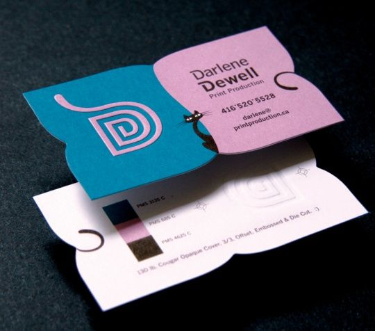 Creative Business Card Designs - Love the simplicity of the lines