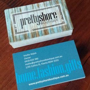 Prettyshore Boutique #businesscard #design.