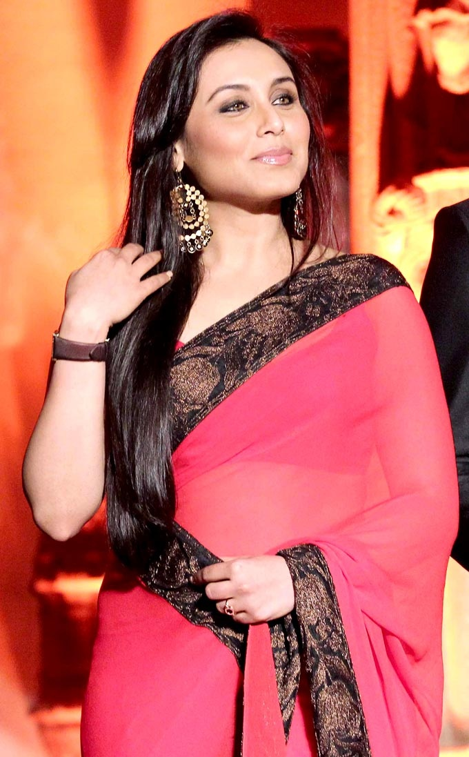 Rani Mukherji at the launch of Saraswatichandra #Bollywood #Fashion