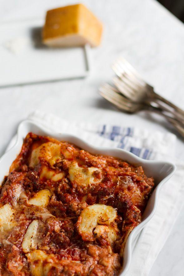Sweet Sausage and Three Cheese Lasagna - Aida Mollenkamp