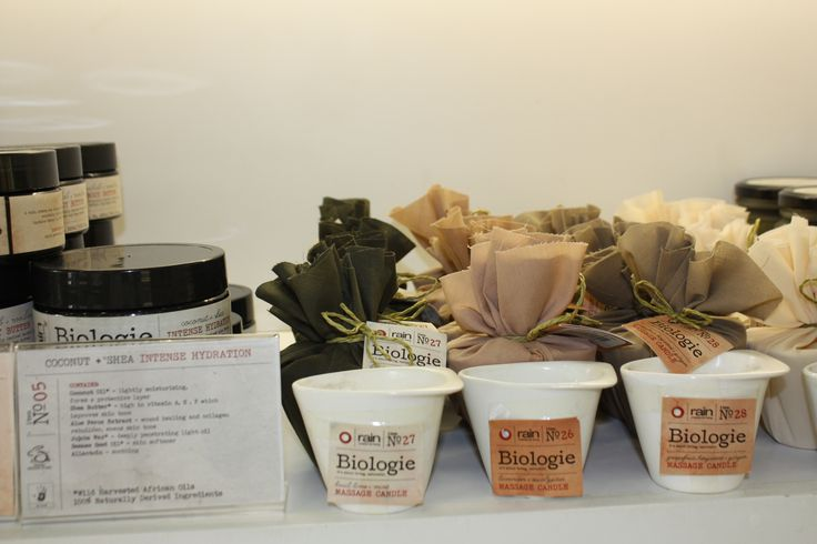 Biologie Eco-friendly products available at Rain in Willowbridge