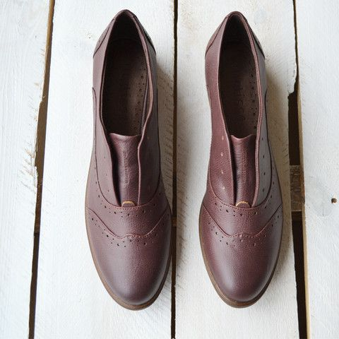 Sigfreid Shoes – Composure Vintage, available @ www.composurevintage.com #fall #fallfashion #oxfords #brogue
