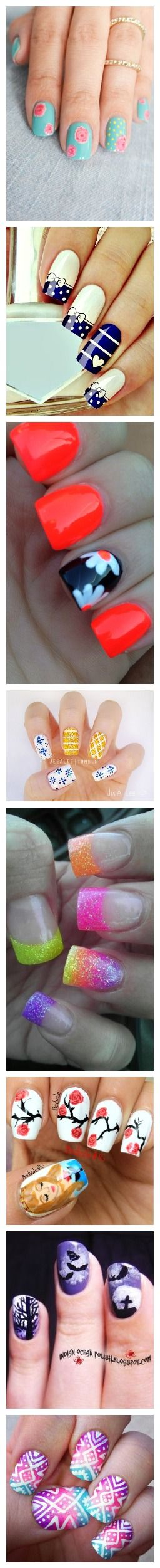 Enjoying The Beauty Of Nail Art