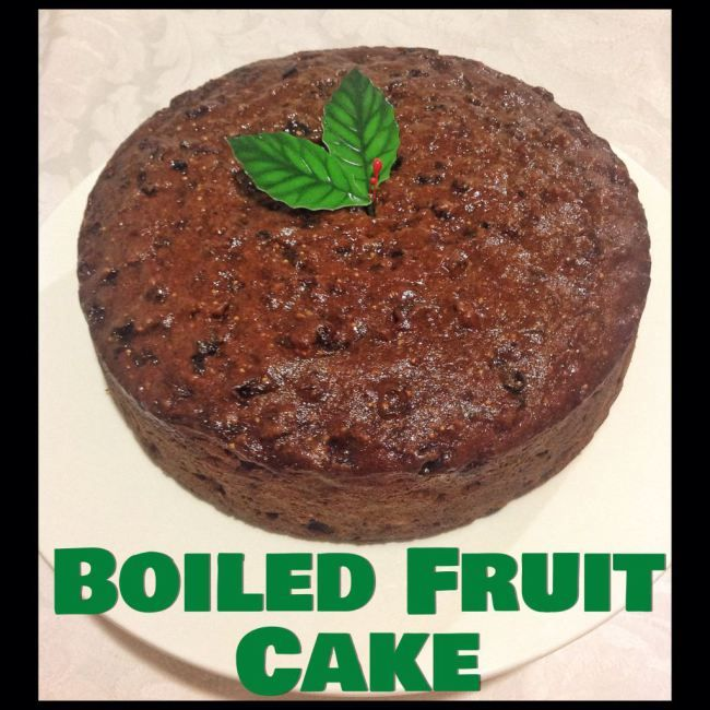 Boiled Fruit Cake (Thermomix Method Included) « Mother Hubbard's Cupboard