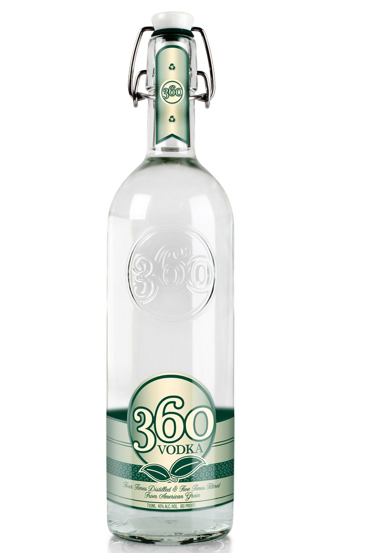 An eco-friendly vodka at an affordable price, you might want to stock a bottle of 360 Vodka regularly.