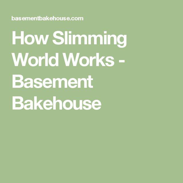 How Slimming World Works - Basement Bakehouse