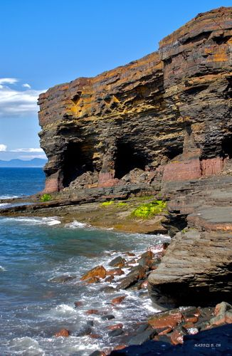'OLD IRON ORE MINES' , BELL ISLAND NEWFOUNDLAND I cant believe Im going to be seeing this for my own eyes in 5 months