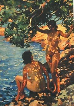 Pohutukawa Rina by Evelyn Page for Sale - New Zealand Art Prints