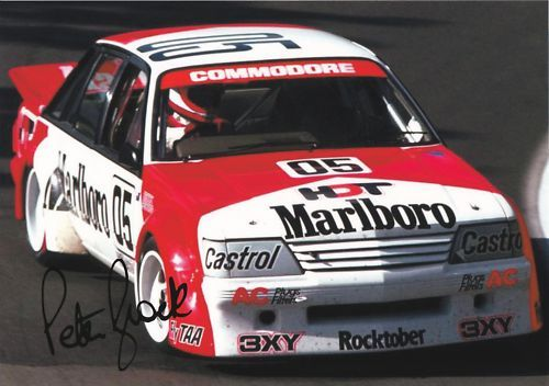 Peter Brock, probably the best V8 driver of all time. RIP.