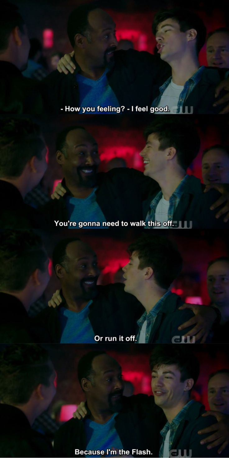 """#TheFlash 4x05 """" Girls Night Out"""" <<< if you have to explain the joke, it ain't funny."""