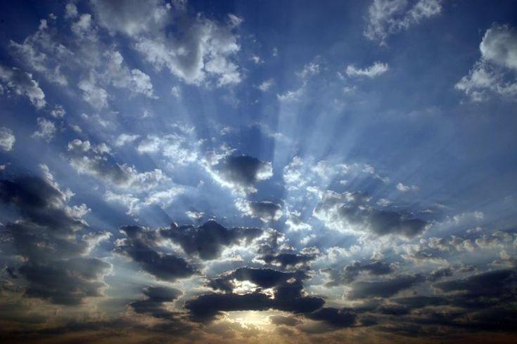 himmel | himmel sonnenuntergang himmel und wolken wetter stimmungen ...
