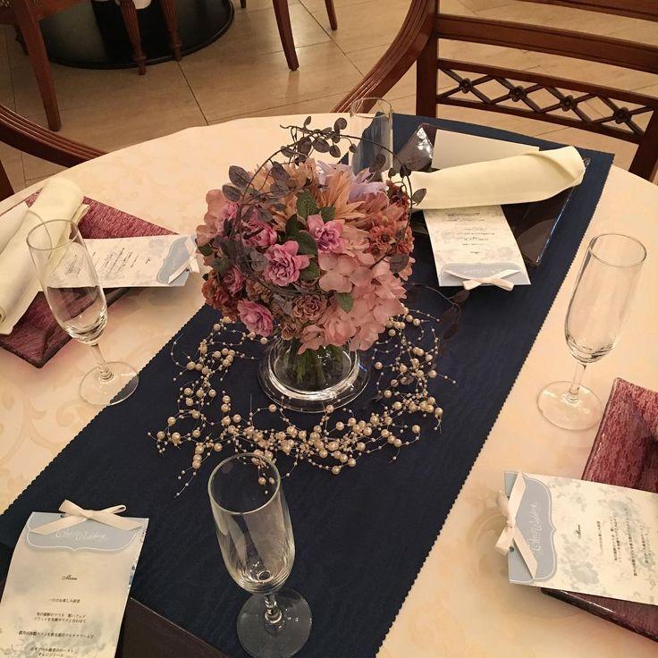 ゲストテーブルに散りばめたいトッピング装飾アイテムまとめ | marry[マリー]