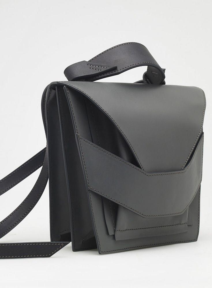 Layered Metallic Bag | Linda Sieto